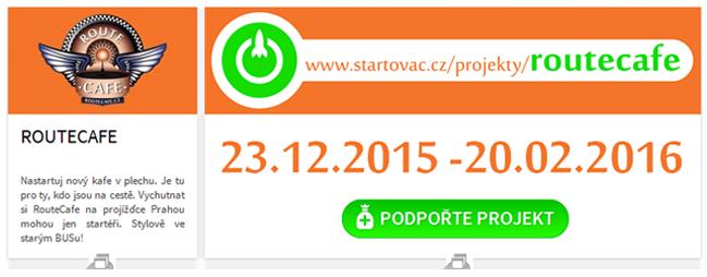RouteCafe - Startovač